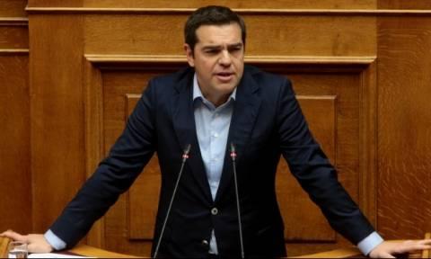 Τσίπρας στη Βουλή: Καλό κουράγιο στους βουλευτές της ΝΔ που θα ψηφίσουν «Ναι σε όλα»