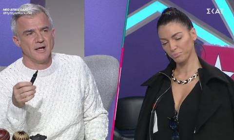 My style rocks: Ο Αργυρόπουλος χαρακτήρισε την Μπάση καρνάβαλο και έγινε χαμός - Τα μάζεψε ο κριτής