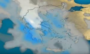 Καιρός: Νέες χιονοπτώσεις την Πέμπτη και σε ημιορεινά! Η πρόγνωση του Σάκη Αρναούτογλου (Video)