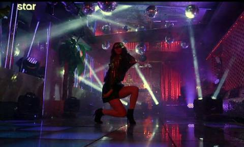 GNTM: Ο καυτός χορός της Ηλιάνας Παπαγεωργίου! (vid)