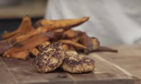 Η συνταγή της ημέρας: Μπιφτέκι κοτόπουλου