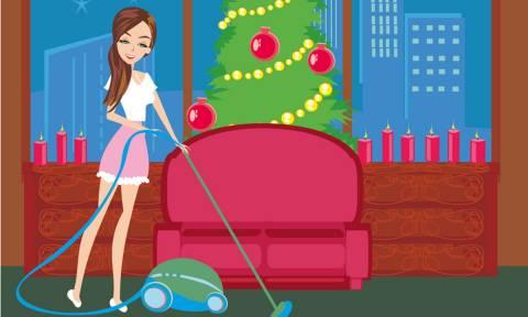 Έτσι θα κάνετε το σπίτι σας να «λάμπει» πριν τα Χριστούγεννα