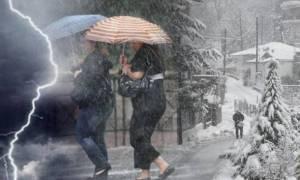 Νέα κακοκαιρία από το Σάββατο με ισχυρές καταιγίδες. Πώς θα εξελιχθεί ο καιρός μέχρι την Τετάρτη...