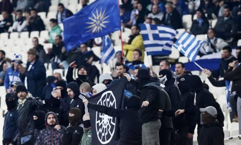 «Καμπάνα» από την UEFA για τα ναζιστικά σύμβολα στο ΟΑΚΑ (photo)