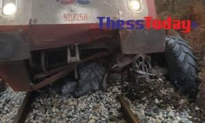 Τραγωδία στις Σέρρες: Τρένο συγκρούστηκε με τρακτέρ – Ένας νεκρός