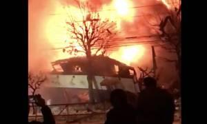 Ισχυρή έκρηξη στην Ιαπωνία: Δεκάδες τραυματίες - Δείτε βίντεο από τις σκηνές χάους που ακολούθησαν