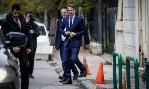 Democracy and pluralism are not silenced, ND's leader Mitsotakis says