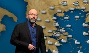 Καιρός: Θέλει προσοχή τις επόμενες ώρες! Η ανάλυση του Σάκη Αρναούτογλου για τα χιόνια (video)