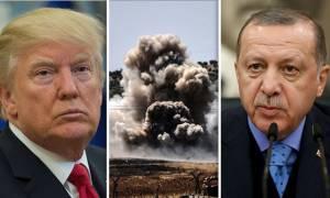 Με το φόβο του Τραμπ ζει ο Ερντoγάν: Αν εισβάλει στη Συρία θα βρει τον στρατό των ΗΠΑ απέναντι του