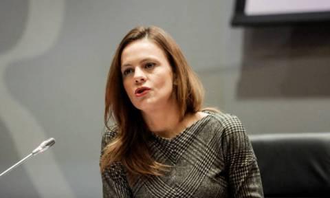 Labour Min Achtsioglou announces new procedure for the settlement of debt