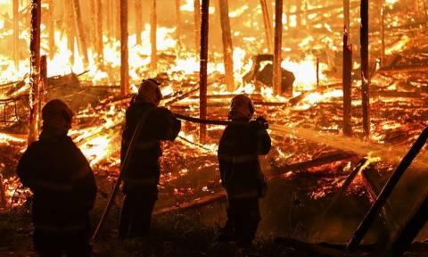 «Κόλαση» φωτιάς στη Βραζιλία: Ξέσπασε πυρκαγιά σε παραγκούπολη – Καίγονταν μέσα στον ύπνο τους