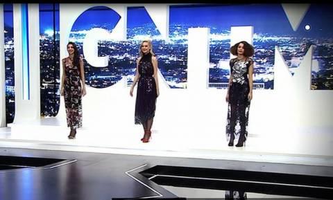 GNTM: Τα πρώτα πλάνα από τον μεγάλο τελικό