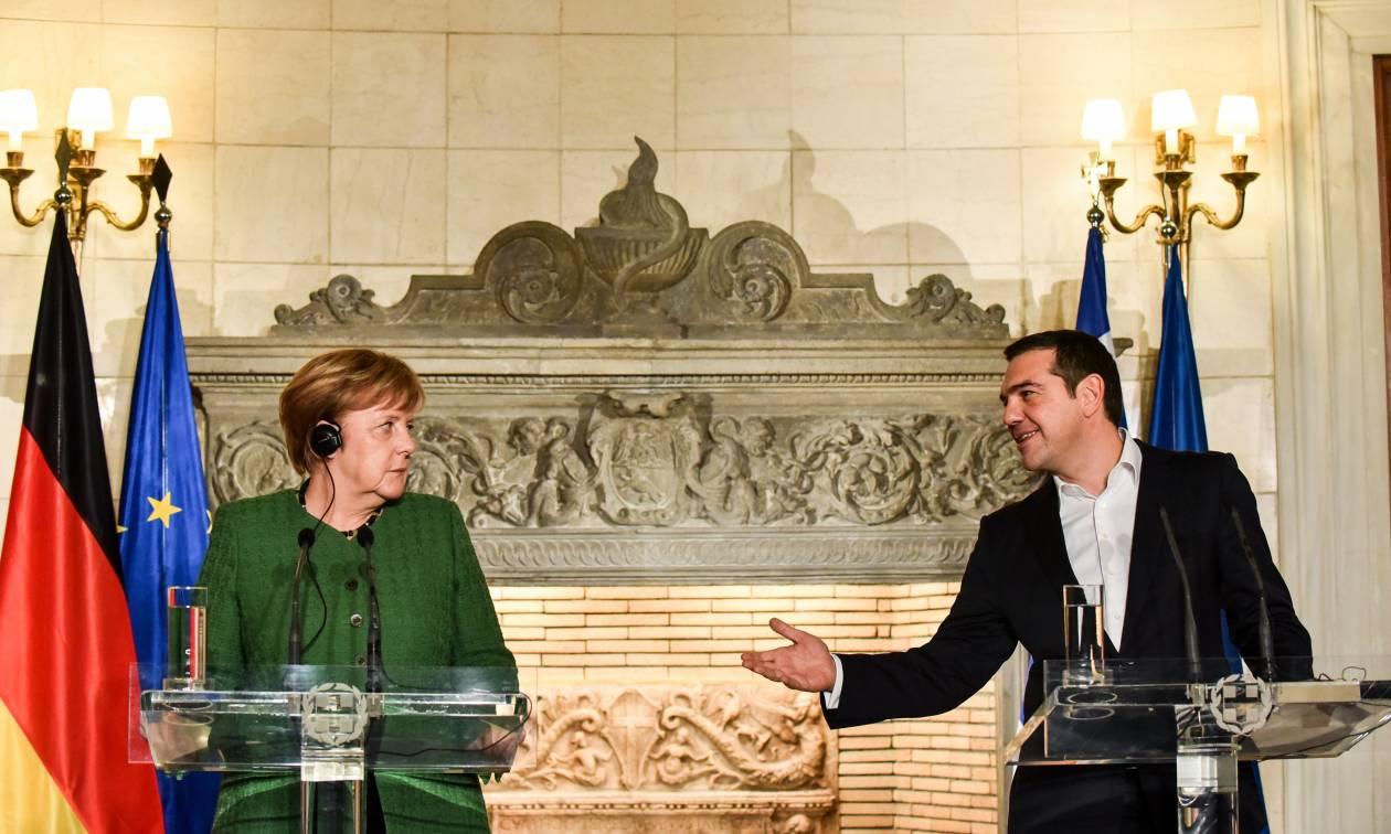 Μέρκελ: Είμαι ευγνώμων προς τον Αλέξη Τσίπρα για την επίλυση του Σκοπιανού